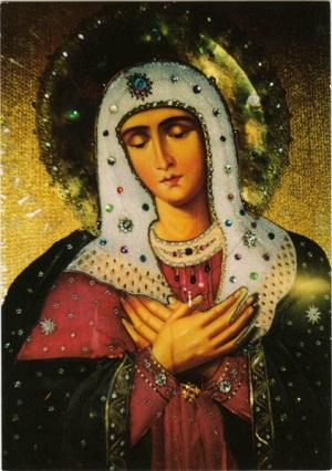 Богородица, икона Умиление